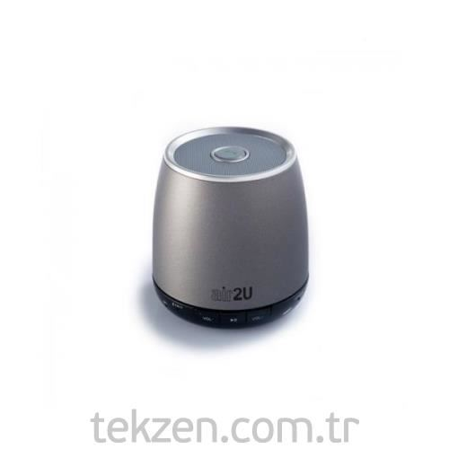 Aiptek Air2U E12 Bluetooth Hoparlör Gri