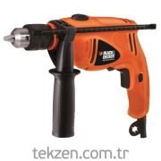 Black&Decker HD500K Darbeli Matkap 550W