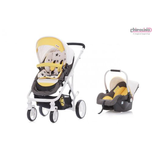 Chipolino Etro Yellow Travel Set Bebek Arabası 7181907