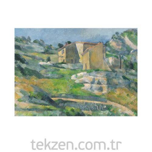 Houses in Provence 50x70 cm