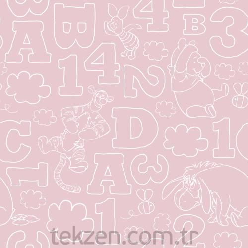Halley 70999 WP 123 PINK WALLPAPER