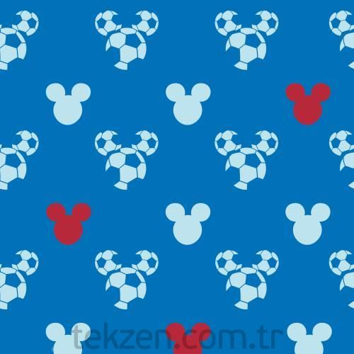 Halley 71899 Mıckey Mouse Dark Blue Wallcovering